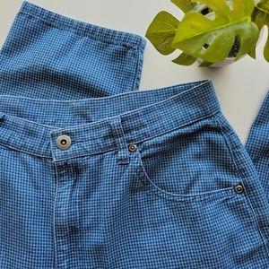 Vintage Liz Claiborne Houndstooth Jeans